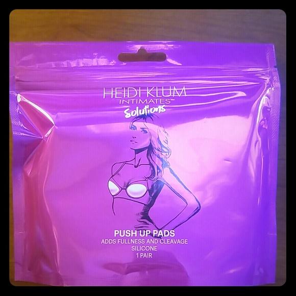 c63138c01d7c7  New  Heidi Klum Intimates Push Up Pads 1 Pair